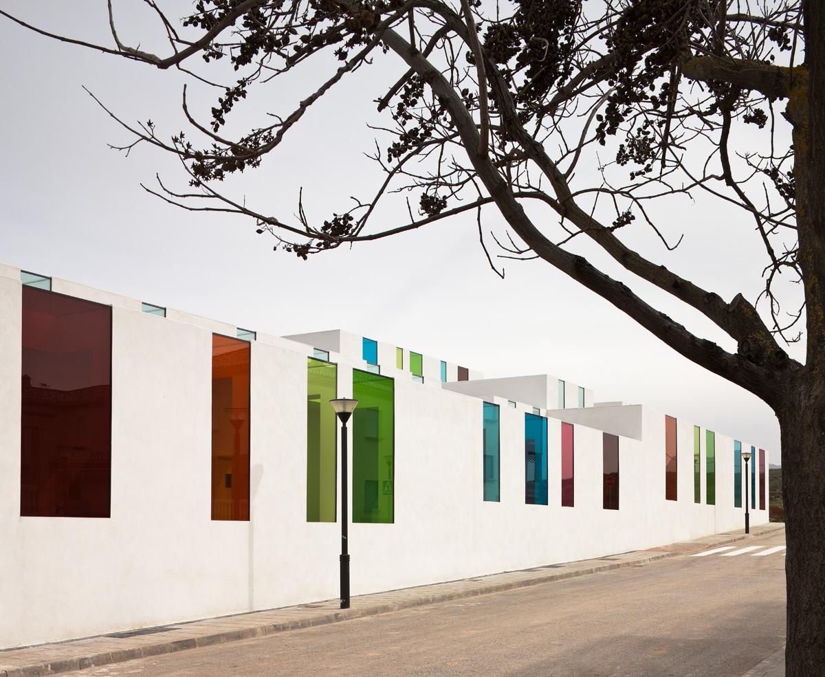 Centro Educativo El Chaparral - Fotografía: Fernando Alda