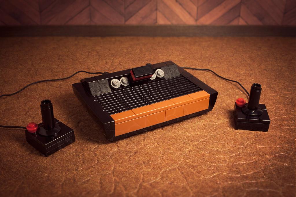 """""""Atari 2600"""" en Lego, por Chris McVeigh"""