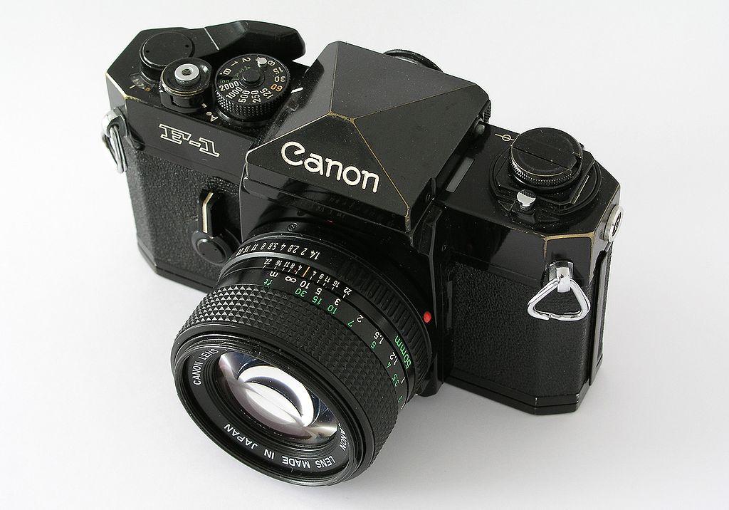 Canon F-1 (1979). Foto por: Noop1958