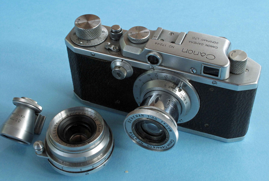 Canon - Cámara S-II (1946). Foto por: Leonard Bentley