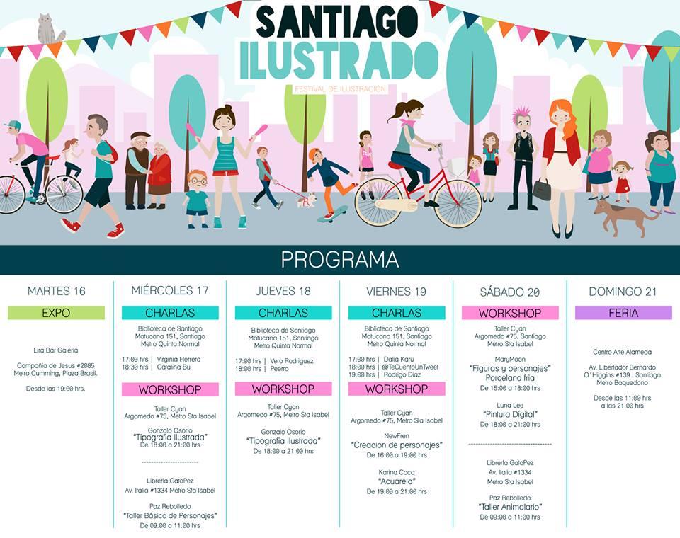 Santiago ilustrado 2
