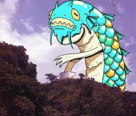 Monstruo de La Lagunita de la Universidad de Carabobo