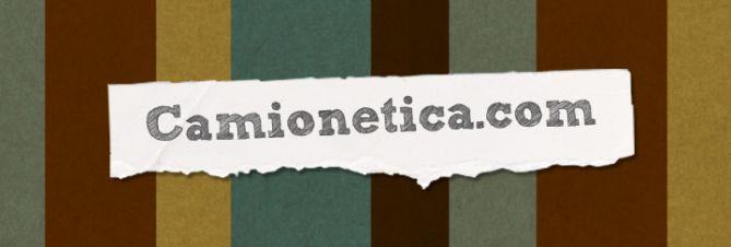 2da Versión del Logotipo de Camionetica (2010) utilizando Sketch Rockwell