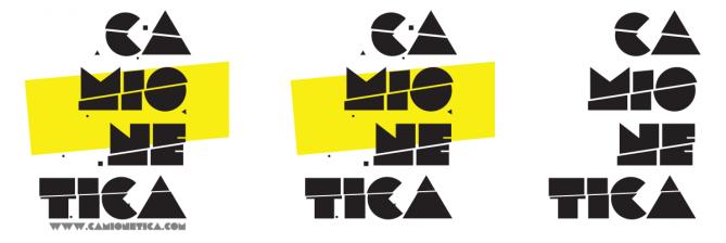 Logo (Variaciones) de Camionetica.com (2011) por Borneo Modofoker
