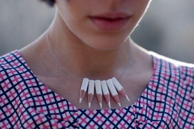 Collares de Crayones DIY - Por Ariadna Mateu