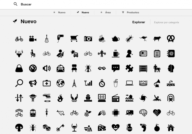 The Noun Project - Búsqueda de Iconos y Símbolos