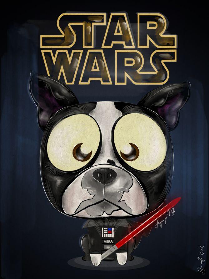 Agua pa' Nella - Star Wars Mascota