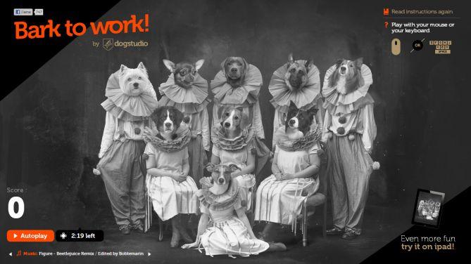 Bark to Work! por Dogstudio