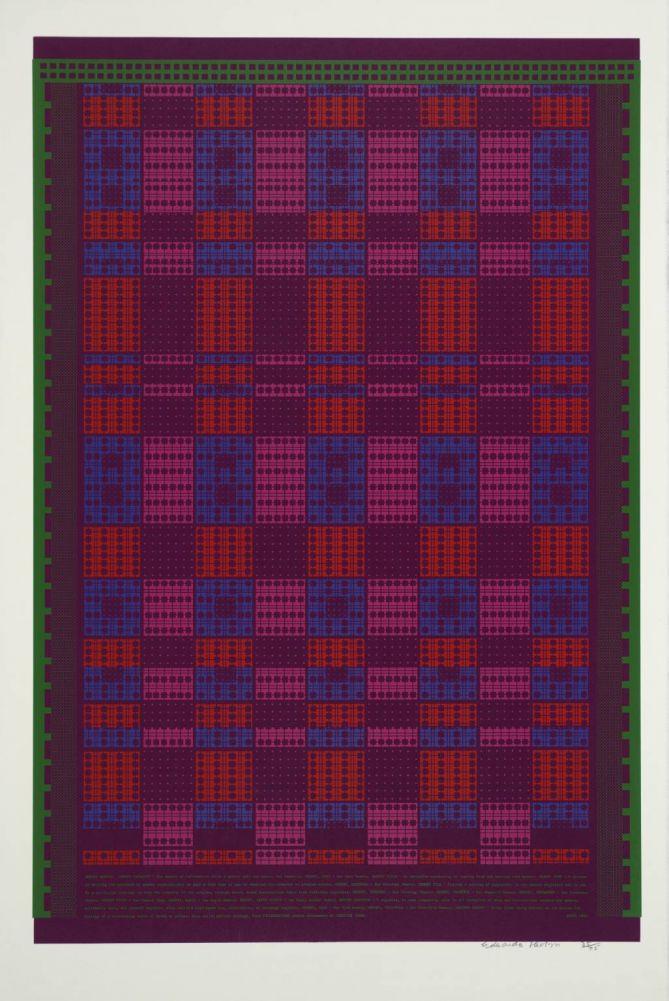 """Memory Matrix"" (Sir Eduardo Paolozzi, 1967)"