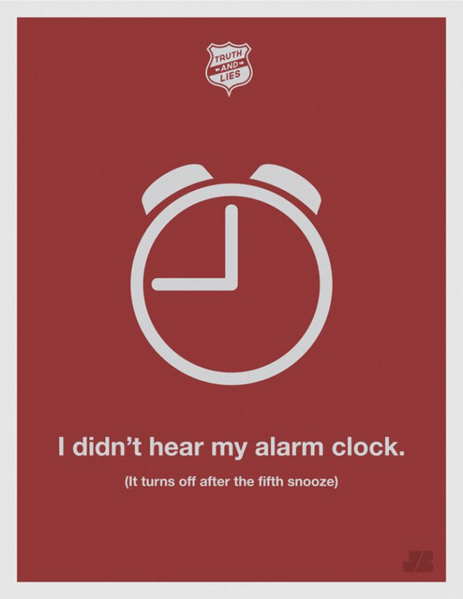 No escuché la alarma del reloj (después de que la apagué por quinta vez)