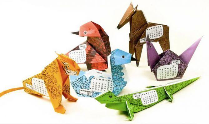 Calendario Origami 2013 - Beastyle