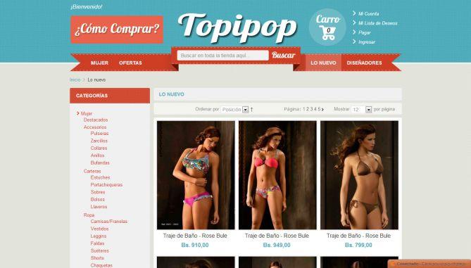 Tienda de Diseño Topipop